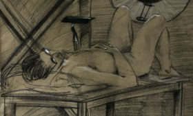 Life drawing portfolio2012